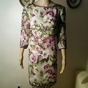 Iwanka Trump floral dress, size 10